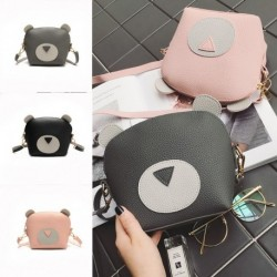 1 db női zsák táska kézitáska rózsaszín szürke fekete Macis