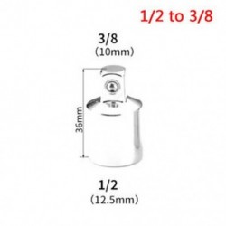 1/2 - 3/8 Női - Férfi foglalat adapter 1 / 2`` 1 / 4`` 3 / 8`` Ratchet Drive Converter Tool