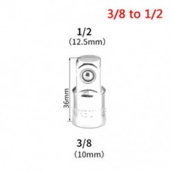 3/8 - 1/2 Női-Férfi Dugaszoló adapter 1 / 2`` 1 / 4`` 3 / 8`` Ratchet Drive Converter Fashion