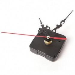 Óra kvarc mozgási mechanizmus piros és fekete kéz DIY csere alkatrész eszköz