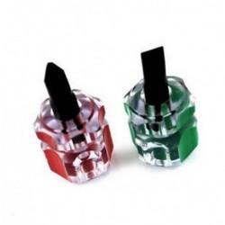 2db / Set Short Mini Stubby Phillips réselt csavarhúzó szerszámkészlet hasznos