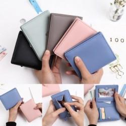 1 db női pénztárca kártyatartó barna zöld