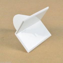 Edger szög Cake díszítő simább lapát eszköz Sugarcraft fondant jegesedés polírozó finiser