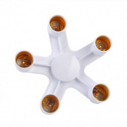E27 1-5 E27 3/4/5 in 1 E27 LED fénylámpa alapadaptere izzótartó átalakító foglalat elosztó