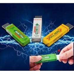 Elektromos sokkoló rágógumi sokk joke Gadget tréfa vicces trükk gag játék ajándék