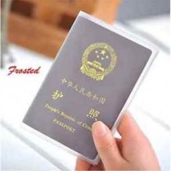 Tiszta Matta Hasznos bőr utazási útlevél-azonosító kártya fedél birtokosa tok Protector Szervező Új