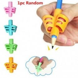 * 4 1db Véletlenszerű 3PCS / Set gyermek ceruzatartó toll író segédeszköz fogantyú korrekciós eszköz