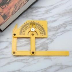 Rugalmas többszögű vonalzó kalibrációs szögmérő kereső 180 ° -os mérőeszköz 1PC