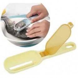 Fish Scale Remover Scaler Scraper Cleaner konyhai eszköz hámozó modulok sárga