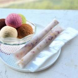 20db jég Pop Bag tálca eldobható DIY fagylalt Ice Lolly öntömítő zsákok