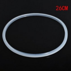 26cm Cseréje szilikon gumi tiszta tömítés otthoni nyomás sütő tömítés gyűrű 22-30cm