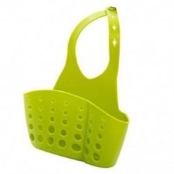 Zöld Konyhai mosogató szivacs tartó Rack fürdőszoba függő szűrő szervező tároló ajándék