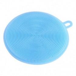 Kék Többcélú élelmiszer-minőségű antibakteriális szilikon Smart Sponge Dish Kitchen 4.5 &quot