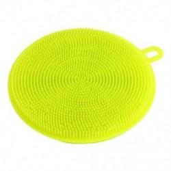 Zöld Többcélú élelmiszer-minőségű antibakteriális szilikon Smart Sponge Dish Kitchen 4.5 &quot