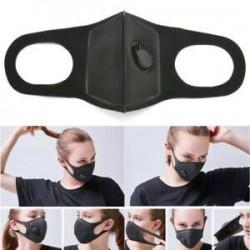 Fekete * 1 Unisex férfi nők kerékpározás pormentes pamut száj arcmaszk sebészeti légzőkészülék