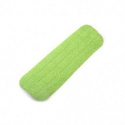 Zöld 1db újrafelhasználható praktikus háztartási portisztító mikroszálas betétes szerszám a szórófejhez