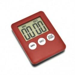 fehér 1 X Nagy LCD digitális konyhai főzési időzítő Count-Down Up Clock Alarm mágneses