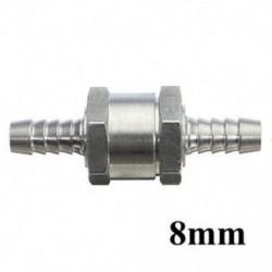8mm 6/8/10/12 mm-es alumínium visszacsapó ellenőrzés egyirányú szelepcsapágy-légtelenítő üzemanyag