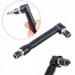 Hordozható L-alakú Mini Dual Head csavarhúzó-bitek kulcsos segédeszköz a rutinhoz