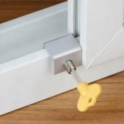 Műanyag acél Wndow ajtó pálya korlátozó csúszó ablak biztonsági lopásgátló zár