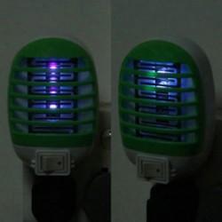 LED elektromos repülés szúnyog pesti hiba rovarcsapda Zapper gyilkos éjszakai lámpa US Plug
