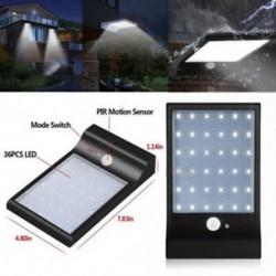 1 csomag-30 LED (fekete) 48/90/144 LED napelemes tápegység Kerti lámpa Spotlight gyep tájképek vízálló