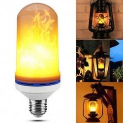 3 üzemmód (Gravity Senso nélkül ... E27 villogó láng villanykörte LED égő tűz fényhatás 4 3 mód Xmas dekoráció