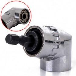 Forró 105 ° -os szög 1/4 6 mm-es hosszabbító húzófúró csavarhúzó foglalat-adapter adapter