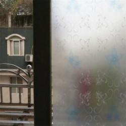 Krizantém 45CMx2M PVC vízálló adatvédelmi hálószoba Fürdőszoba Fagyott ablakfilm matrica