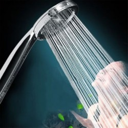 Forró zuhanyfej magasnyomású víztakarékossági zuhanykagylóval