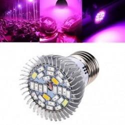 8W E27 LED Grow Light Kit Teljes spektrumú hidroponikus növények Veg viráglámpa Új