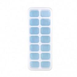 Kék Szilikon jégkocka tálcák Jelly Maker penész tálcák fedelét koktél, whisky