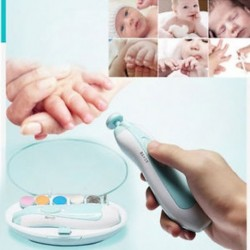 1db Elektromos körömvágó babák körömvágásához