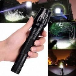 Új 20000 lumen 5 üzemmód XM-L T6 LED 18650 Erős fáklya Rendőrség zseblámpa lámpa