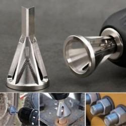 1db sorjázó külső szerszám rozsdamentes acélból Távolítsa el a Burr Silver Drill Bit-et