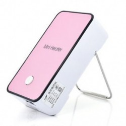 Rózsaszín Elektromos Mini Fan Space Heater Hordozható Téli Melegebb Home Office Desktop Új