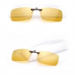 Éjszakai látás Polarizált napszemüveg Flip-up klip vezetési szemüvegek napja éjszakai látás lencse UV400