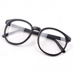 Matt fekete Divat világos kerek lencse szemüveg keret retro férfi nők unisex majom szemüveg