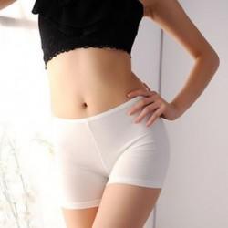 fehér Divat nők szexi jóga sport zökkenőmentes leggings Basic sima nadrág biztonsági nadrág