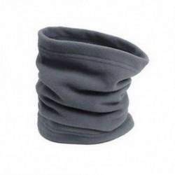 szürke 3 in 1 SNOOD Fleece sál Hood Balaclava nyak téli melegítő arcmaszk Beanie kalap