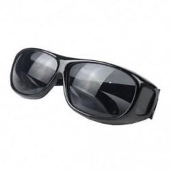 Fekete HD Unisex férfiak nők éjszakai látása napszemüvegek átfutása a szemüveg körül Új