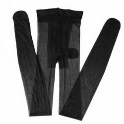 Fekete Szexi férfi első nyitott szoros harisnya Stretch ujjú köpeny harisnya fehérnemű