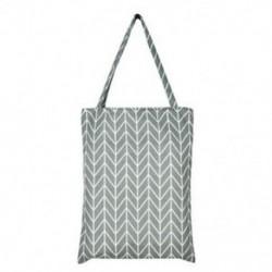 szürke Vászon Bevásárló táska Váll Tote Satchel Square Csillag táskák Eco Messenger Bag
