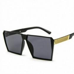 * 1 Férfi nők Retro nagy négyzet alakú keret túlméretezett divat napszemüveg szemüveg