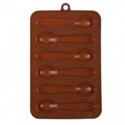 6 adagos Kanál alakú szilikon csokoládéforma - fondant forma - V7Z9