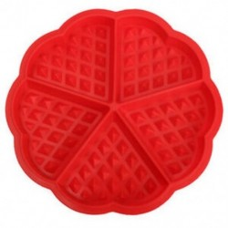 Öt adagos szilikon gofri forma - sütőforma - G6A4