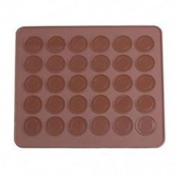 285mm x 255mm-es Macaron sütőlap - szilikon sütőlap - S5A3