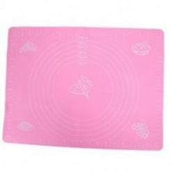 Rózsaszín - 40cm x 30cm-es Szilikon sütőlap - Y2I7