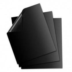 3db Fekete - Tapadásmentes grill sütőlap - BBQ - Kerti sütögetéshez - E9F2