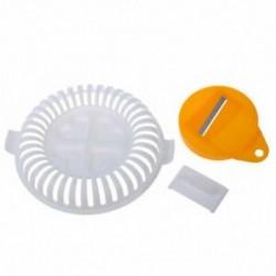 Műanyag DIY burgonya chips készítő növényi szeletelő ropogós mini hullám Új Z4C6